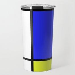 Mondrian #23 Travel Mug
