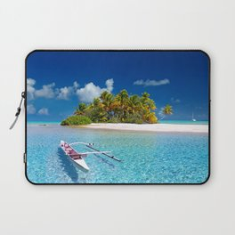 Tahiti South Sea Laptop Sleeve
