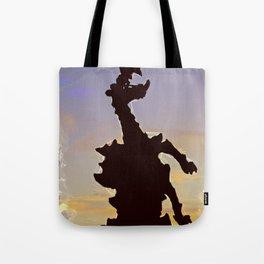 wawel dragon Cracow Tote Bag