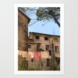 Ceserano Clothesline Art Print