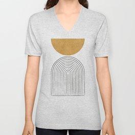 Arch Balance Gold Unisex V-Neck