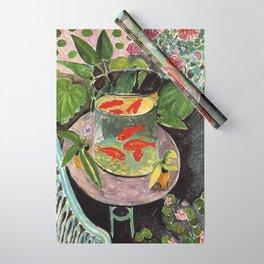 Henri Matisse Goldfish 1911, Goldfishes Artwork, Men, Women, Youth Wrapping Paper