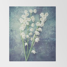 Lily Of The Valley II Throw Blanket