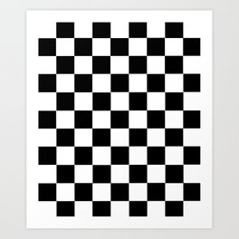 Checkerboard Art Print