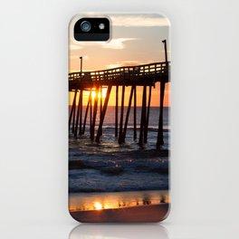 Rodanthe Pier Sunrise iPhone Case