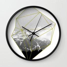 Alps Chunk Wall Clock