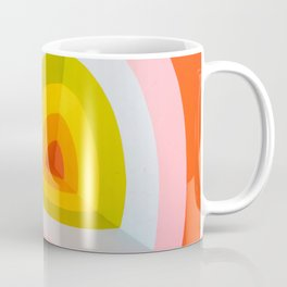 Multi Colour Corner Wall Art Coffee Mug