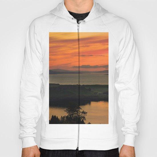 Sunset Over Kerrera Isle Hoody