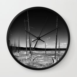 Lodgepole Pines Wall Clock