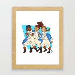 Squad Goals Framed Art Print
