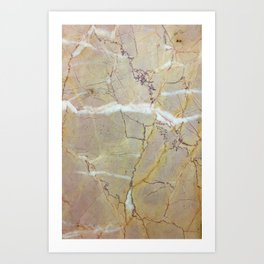 Crippled Stone Art Print