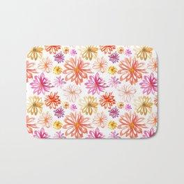 Painted Floral I Bath Mat