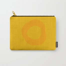 Abstract | Yellow Carry-All Pouch