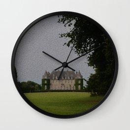 Belgian Chateau Wall Clock
