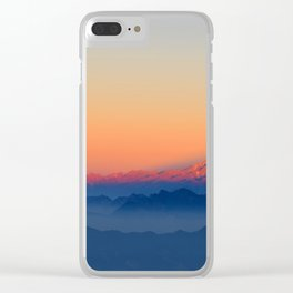 Presence of Sun Clear iPhone Case