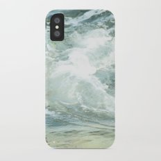 Cushion me soft, rock me billowy drowse, Dash me with amorous wet. iPhone X Slim Case