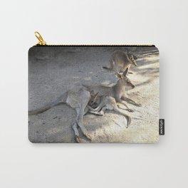Kangaroo and Joeys Carry-All Pouch