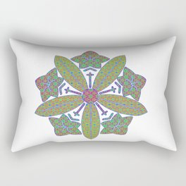 zen soto crest Rectangular Pillow