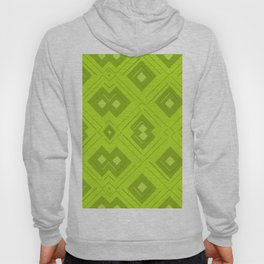 Green Room Pattern Hoody