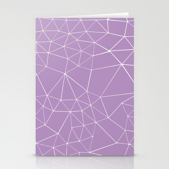 Segment Zoom Orchid Stationery Cards