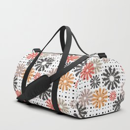 Abstraction. Colorful daisies background. Duffle Bag