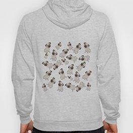 Pug Pattern  Hoody