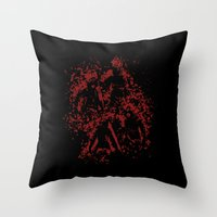 assassins creed Throw Pillows featuring Assassins by LitYousei