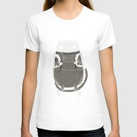 tote T-shirts featuring space cat by Louis Roskosch