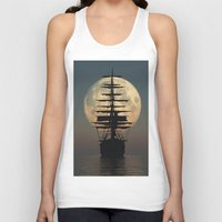ship Tank Tops featuring Ship by samedia