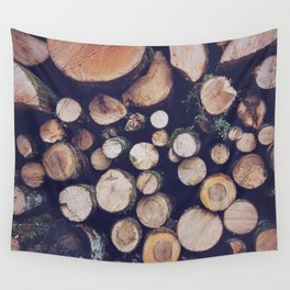 firewood no. 1 Wall Tapestry