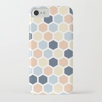 honeycomb iPhone & iPod Cases featuring Honeycomb by 603 Creative Studio
