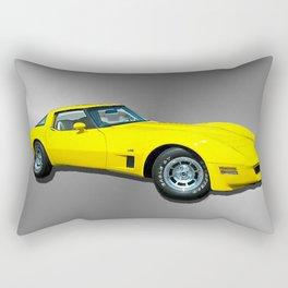 Arizona Angel 1980 Corvette Rectangular Pillow