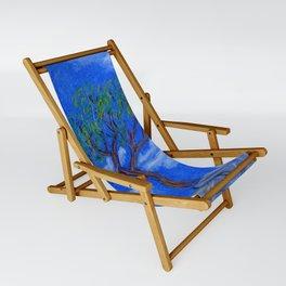 REALLY Blue Bonsai Sling Chair