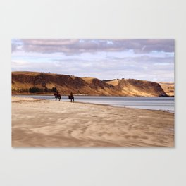 Riders on the Shore Canvas Print