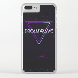 Dreamwave Aesthetic Clear iPhone Case