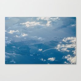 Deep Sea Scape Canvas Print
