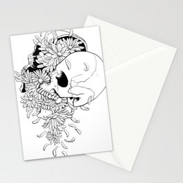 Skull (Pushing Up Daisies) Stationery Cards