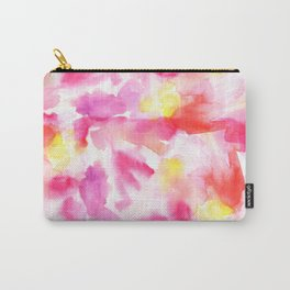 Pink watercolors Carry-All Pouch