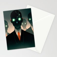 Microchip mind control Stationery Cards
