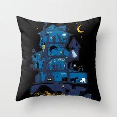Wizard's Castle Throw Pillow