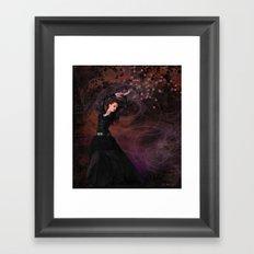 Study in Black Framed Art Print
