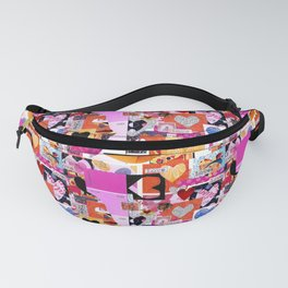 'love squared ...' Fanny Pack