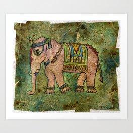 Royal Elephant Art Print