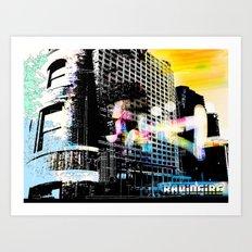 Films Art Print