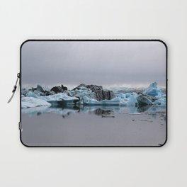 Icebergs at Glacier Lagoon Jökullsárlon Laptop Sleeve