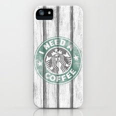 STARBUCKS - I need a coffee! (v2) Slim Case iPhone (5, 5s)