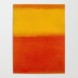 1956 Orange and Yellow by Mark Rothko HD Poster