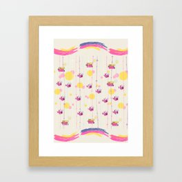 #HappyFish Framed Art Print