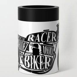 Cafe racer motorcycle Can Cooler