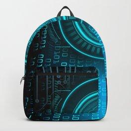 Futurist Matrix | Digital Art Backpack